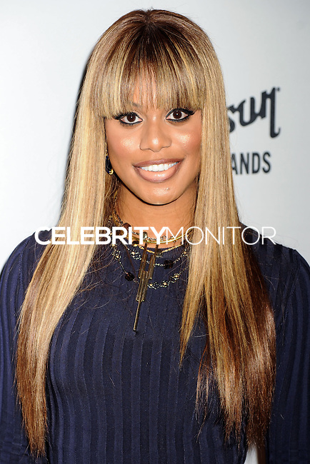 NEW YORK CITY, NY, USA - SEPTEMBER 05: Laverne Cox arrives at the 2nd Annual Fashion Media Awards held at the Park Hyatt on September 5, 2014 in New York City, New York, United States. (Photo by Celebrity Monitor)