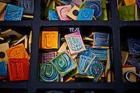 """The Letter """" U """" Fridge Magnets, Arts Alive Festival Langley City"""
