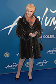 London, UK. 19 January 2016. Actress Anita Dobson. Celebrities arrive on the red carpet for the London premiere of Amaluna, the latest show of Cirque du Soleil, at the Royal Albert Hall.