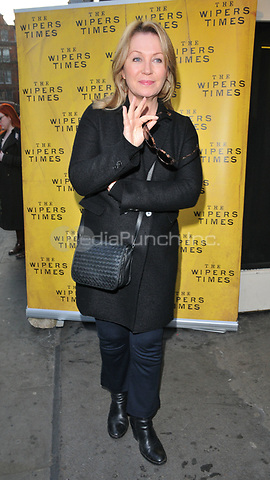 Kirsty Young at the &quot;The Wipers Times&quot; press night, The Arts Theatre, Great Newport Street, London, England, UK, on Monday 27 March 2017.<br /> CAP/CAN<br /> &copy;CAN/Capital Pictures /MediaPunch ***NORTH AND SOUTH AMERICAS ONLY***