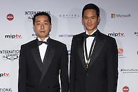 NEW YORK, NY - NOVEMBER 19: Bang Chung Oh and Ko Dong Kyun at the 40th International Emmy Awards in New York. November 19, 2012. © Diego Corredor/MediaPunch Inc. /NortePhoto