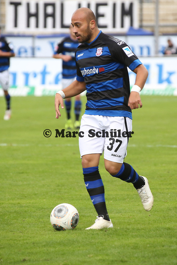 Zafer Yelen (FSV) - FSV Frankfurt vs. FC Erzgebirge Aue, Frankfurter Volksbank Stadion