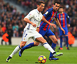 03.12.2016 Barcelona. La Liga. Picture show Cristiano Ronaldo in action during game between Fc Barcelona against Real Madrid at Camp Nou
