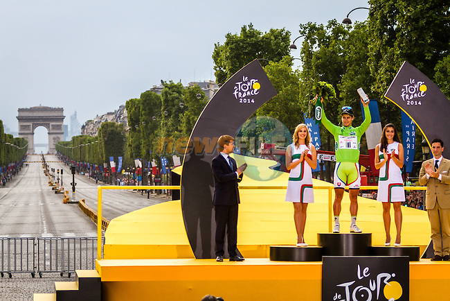 Peter Sagan, Cannondale, Tour de France, Stage 21: Évry > Paris Champs-Élysées, UCI WorldTour, 2.UWT, Paris Champs-Élysées, France, 27th July 2014, Photo by Thomas van Bracht