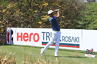Hideto Tanihara (JPN) in action on the 11th during Round 3 of the Hero Indian Open at the DLF Golf and Country Club on Saturday 10th March 2018.<br /> Picture:  Thos Caffrey / www.golffile.ie<br /> <br /> All photo usage must carry mandatory copyright credit (&copy; Golffile | Thos Caffrey)