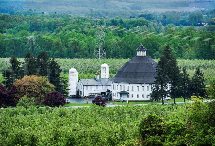 Historic Round Barn, Biglerville, Pennsylvania, USA