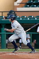 Michael Sheridan (20) of the Charlotte Stone Crabs during a game vs. the Lakeland Flying Tigers May 11 2010 at Joker Marchant Stadium in Lakeland, Florida. Charlotte won the game against Lakeland by the score of 3-0.  Photo By Scott Jontes/Four Seam Images