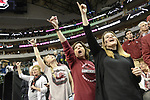 DALLAS, TX - APRIL 2: South Carolina fans cheer during the 2017 Women's Final Four at American Airlines Center on March 31, 2017 in Dallas, Texas. (Photo by Evert Nelson/NCAA Photos via Getty Images)