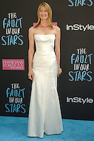 NEW YORK CITY, NY, USA - JUNE 02: Laura Dern at the New York Premiere Of 'The Fault In Our Stars' held at Ziegfeld Theatre on June 2, 2014 in New York City, New York, United States. (Photo by Celebrity Monitor)