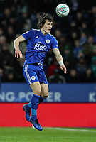 Leicester City's Caglar Soyunc<br /> <br /> Photographer Andrew Kearns/CameraSport<br /> <br /> English League Cup - Carabao Cup Quarter Final - Leicester City v Manchester City - Tuesday 18th December 2018 - King Power Stadium - Leicester<br />  <br /> World Copyright &copy; 2018 CameraSport. All rights reserved. 43 Linden Ave. Countesthorpe. Leicester. England. LE8 5PG - Tel: +44 (0) 116 277 4147 - admin@camerasport.com - www.camerasport.com