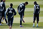 Madrid (11/03/10).-Entrenamiento del Real Madrid..Cristiano Ronaldo y Lassana Diarra...© Alex Cid-Fuentes/ ALFAQUI..Madrid (11/03/10).-Training session of Real Madrid c.f..Cristiano Ronaldo And Lassana Diarra...© Alex Cid-Fuentes/ ALFAQUI.