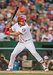 25 August 2016: Washington Nationals infielder Anthony Rendon in action against the Baltimore Orioles at Nationals Park in Washington, DC. The Nationals blanked the Orioles 4-0 to salvage one game of their 4-game home and away series. Mandatory Credit: Ed Wolfstein Photo *** RAW (NEF) Image File Available ***