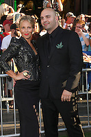 Ahmet Zappa arrives at the Los Angeles premiere of 'The Odd Life Of Timothy Green' at the El Capitan Theatre on August 6, 2012 in Hollywood, California. MPI28 / Medapunchinc /NortePhoto.com<br />