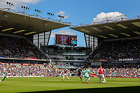 A general view of the action inside Turf Moor<br /> <br /> Photographer Alex Dodd/CameraSport<br /> <br /> The Premier League - Burnley v Arsenal - Sunday 12th May 2019 - Turf Moor - Burnley<br /> <br /> World Copyright © 2019 CameraSport. All rights reserved. 43 Linden Ave. Countesthorpe. Leicester. England. LE8 5PG - Tel: +44 (0) 116 277 4147 - admin@camerasport.com - www.camerasport.com