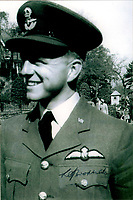 BNPS.co.uk (01202 558833)<br /> Pic: BNPS<br /> <br /> PICTURED: Flight Lieutenant Leslie Broderick<br /> <br /> The medals of a war hero who played a key role in the 'Great Escape' are being sold for the first time.<br /> <br /> Flight Lieutenant Leslie Broderick was in charge of the entrance of one of three escape tunnels beneath the German prison camp that 76 PoWs later broke out from.<br /> <br /> The RAF pilot was one of those who famously escaped and spent three days on the run with two others before a German farmer they sought help from turned them in.<br /> <br /> F/Lt Broderick was returned to Stalag Luft III and spent three weeks in isolation. <br /> <br /> But his two colleagues - Flying Officer Denys Street and F/O Henry Birkland - were among the 50 escapees executed by the Gestapo on the orders of Adolf Hitler.