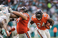 MIAMI, FL, 14.10.2018 – MIAMI DOLPHINS-CHICAGO BEARS – Jogador Howard do Chicago Bears, durante partida válida pela semana 6 da temporada regular da NFL, no Hard Rock Stadium, na tarde deste sábado (14). (Foto: Jayson Braga / Brazil Photo Press)