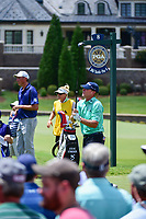Steve Stricker (USA) watches his tee shot on 8 during Saturday's round 3 of the PGA Championship at the Quail Hollow Club in Charlotte, North Carolina. 8/12/2017.<br /> Picture: Golffile | Ken Murray<br /> <br /> <br /> All photo usage must carry mandatory copyright credit (&copy; Golffile | Ken Murray)