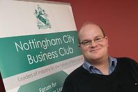 Ewan Carr of Nottingham City Business Club