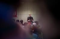 GroKo oder NoGroKo? &ndash; Diskussionsveranstaltung der Jusos Marzahn-Hellersdorf, Jusos Lichtenberg und Jusos Treptow-Koepenick mit dem Juso-Vorsitzenden Kevin Kuehnert am Dienstag den 20. Februar 2018 in Berlin-Hellersdorf.<br /> 20.2.2018, Berlin<br /> Copyright: Christian-Ditsch.de<br /> [Inhaltsveraendernde Manipulation des Fotos nur nach ausdruecklicher Genehmigung des Fotografen. Vereinbarungen ueber Abtretung von Persoenlichkeitsrechten/Model Release der abgebildeten Person/Personen liegen nicht vor. NO MODEL RELEASE! Nur fuer Redaktionelle Zwecke. Don't publish without copyright Christian-Ditsch.de, Veroeffentlichung nur mit Fotografennennung, sowie gegen Honorar, MwSt. und Beleg. Konto: I N G - D i B a, IBAN DE58500105175400192269, BIC INGDDEFFXXX, Kontakt: post@christian-ditsch.de<br /> Bei der Bearbeitung der Dateiinformationen darf die Urheberkennzeichnung in den EXIF- und  IPTC-Daten nicht entfernt werden, diese sind in digitalen Medien nach &sect;95c UrhG rechtlich geschuetzt. Der Urhebervermerk wird gemaess &sect;13 UrhG verlangt.]