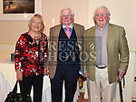 Syd Kierans celebrating his 80th birthday in The Glenside Hotel with his brother Dom and Dom's wife Rita. Photo:Colin Bell/pressphotos.ie