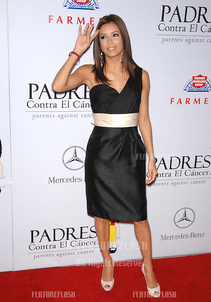 Desperate Housewives star Eva Longoria at a fund-raising gala to benefit Padres Contra El Cåncer (parents against cancer) at The Lot, Hollywood..October 19, 2007  Los Angeles, CA.Picture: Paul Smith / Featureflash