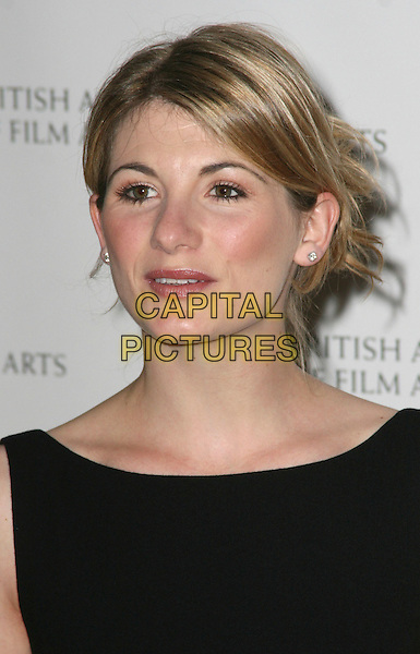 JODIE WHITTAKER .2009 British Academy Television Craft Awards  at the London Hilton Hotel, London, England, UK, .May 17th 2009..Bafta Baftas TV Bafta's portrait headshot black hair up .CAP/JIL.©Jill Mayhew/Capital Pictures