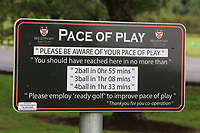 Sign on course during the Preview of the AIG Cups & Shields Connacht Finals 2019 in Wesport Golf Club, Westport, Co. Mayo on Thursday 8th August 2019.<br /> <br /> Picture:  Thos Caffrey / www.golffile.ie<br /> <br /> All photos usage must carry mandatory copyright credit (© Golffile | Thos Caffrey)