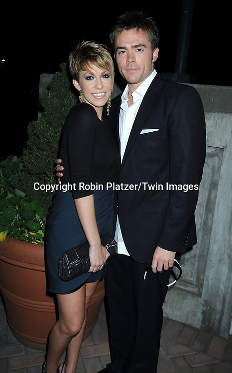 Farah Fath and John-Paul Lavoisier attending ABC Casino Night on October 28, 2010 at Guastavinos in New York City. .
