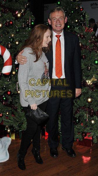 LONDON, ENGLAND - NOVEMBER 02: Catherine Tate &amp; Martin Clunes attend the &quot;Nativity 3: Dude, Where's My Donkey&quot; UK film premiere, Vue West End cinema, Leicester Square, on Sunday November 02, 2014 in London, England, UK. <br /> CAP/CAN<br /> &copy;Can Nguyen/Capital Pictures