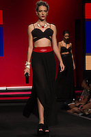 S&Atilde;O PAULO-SP-03.03.2015 - INVERNO 2015/MEGA FASHION WEEK -Grife Acess&oacute;rios Urbhanos/<br /> O Shopping Mega Polo Moda inicia a 18&deg; edi&ccedil;&atilde;o do Mega Fashion Week, (02,03 e 04 de Mar&ccedil;o) com as principais tend&ecirc;ncias do outono/inverno 2015.Com 1400 looks das 300 marcas presentes no shopping de atacado.Br&aacute;z-Regi&atilde;o central da cidade de S&atilde;o Paulo na manh&atilde; dessa segunda-feira,02.(Foto:Kevin David/Brazil Photo Press)