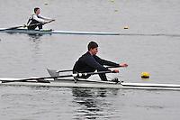 078 DartTotnesRC J17A.1x..Marlow Regatta Committee Thames Valley Trial Head. 1900m at Dorney Lake/Eton College Rowing Centre, Dorney, Buckinghamshire. Sunday 29 January 2012. Run over three divisions.