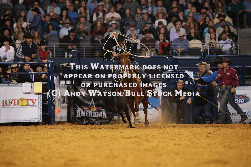 Timber Moore during the RFDTV American. Photo by Andy Watson