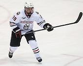 Mike Szmatula (NU - 19) - The visiting University of Vermont Catamounts defeated the Northeastern University Huskies 6-2 on Saturday, October 11, 2014, at Matthews Arena in Boston, Massachusetts.