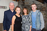 Danielle O'Leary, Listellick Tralee, celebrates a birthday with family, Danny Noreen and Scott O'Leary at Bella boa's on Saturday