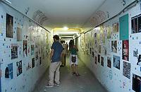 BELO HORIZONTE-MG-15.09.2013-Primeira virada cultural de Belo Horizonte-exposição no tunel de acesso do metrô- domingo,15-(Foto: Sergio Falci / Brazil Photo Press)