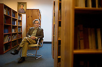"Dr. Stephen Soldz, director of the Center for Research, Evaluation, and Program Development at the Boston Graduate School of Psychoanalysis, is seen here at the school in Boston, Massachusetts, USA, on Tues., Oct. 25, 2011.  Soldz is critical of the a new collaborative program between the US Army and the American Psychological Association called Comprehensive Soldier Fitness.  CSF is a big-budget ""resilience training initiative"" focused on positive psychology designed to prevent the psychological toll of combat on American soldiers.  Soldz has many criticisms of the program, including that there has not been a pilot study of it and that positive psychology is not the best approach to something inherently negative, such as the killing of another person.  Soldz teaches research methodology at the Boston Graduate School of Psychoanalysis. His research has approached many topics over his career, but in the past five years, he's focused on the use of psychology in human rights applications."