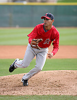 Alex Torres - Los Angeles Angels - 2009 spring training.Photo by:  Bill Mitchell/Four Seam Images