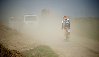 111th Paris-Roubaix 2013..unfortunate Lars Bak (DNK)