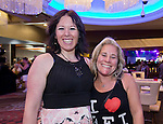 Ann Astasia Tolley, from Chico, and Kesa Labanowski from Petaluma attend the Billy Idol Concert in the Grand Sierra Resort's Grand Theatre on Friday night, August 7, 2015.