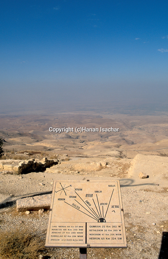 Jordan, the view West of Mount Nebo&#xA;<br />