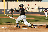 SAN ANTONIO, TX - APRIL 10, 2018: The University of Texas at San Antonio Roadrunners fall to the Stephen F. Austin State University Lumberjacks 5-1 at Roadrunner Field. (Photo by Jeff Huehn)