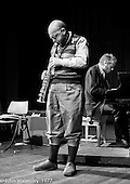 Lol Coxhill, jazz saxophonist, and Veryan Weston, jazz pianist, lived and worked at Digswell House, an artists' community run by the Digswell Arts Trust, Welwyn Garden City, Hertfordshire, UK.  1977. Other artists there at the time included:  Liz Fritsch, potter, John Blakeley, sculptor, Patricia Leighton, sculptor and John Walmsley, photographer.