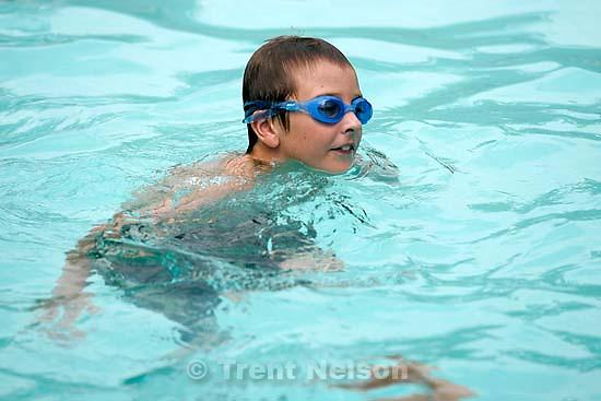 Noah Nelson swim lessons. 8.16.2004<br />