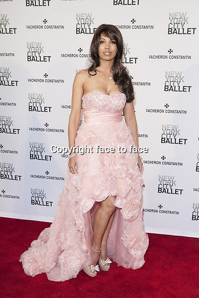 NEW YORK, NY - MAY 8: Zaida Batista attends New York City Ballet's Spring 2013 Gala at David H. Koch Theater, Lincoln Center on May 8, 2013 in New York City...Credit: MediaPunch/face to face..- Germany, Austria, Switzerland, Eastern Europe, Australia, UK, USA, Taiwan, Singapore, China, Malaysia, Thailand, Sweden, Estonia, Latvia and Lithuania rights only -