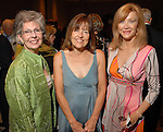 Gayle Eury, Andrea White and Astrid Van Dyke at the City of Houston's Birthday Bash at the George R. Brown Convention Center Tuesday Aug. 19,2008.(Dave Rossman/For the Chronicle)