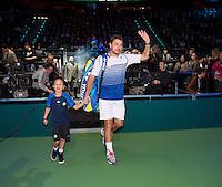 Februari 13, 2015, Netherlands, Rotterdam, Ahoy, ABN AMRO World Tennis Tournament, Stan Wawrinka (SUI)<br /> Photo: Tennisimages/Henk Koster
