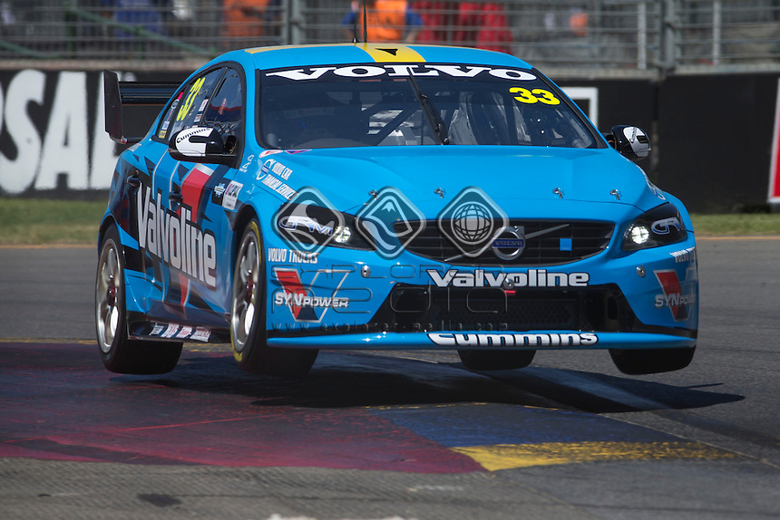 Scott McLaughlin of Valvoline Racing GRM during the , Craig Lowndes - Action<br /> Jamie Whincup - Action at the Adelaide Street Circuit, Adelaide, South Australia, February 28, 2014.<br /> &copy; Sport the library / Mark Horsburgh