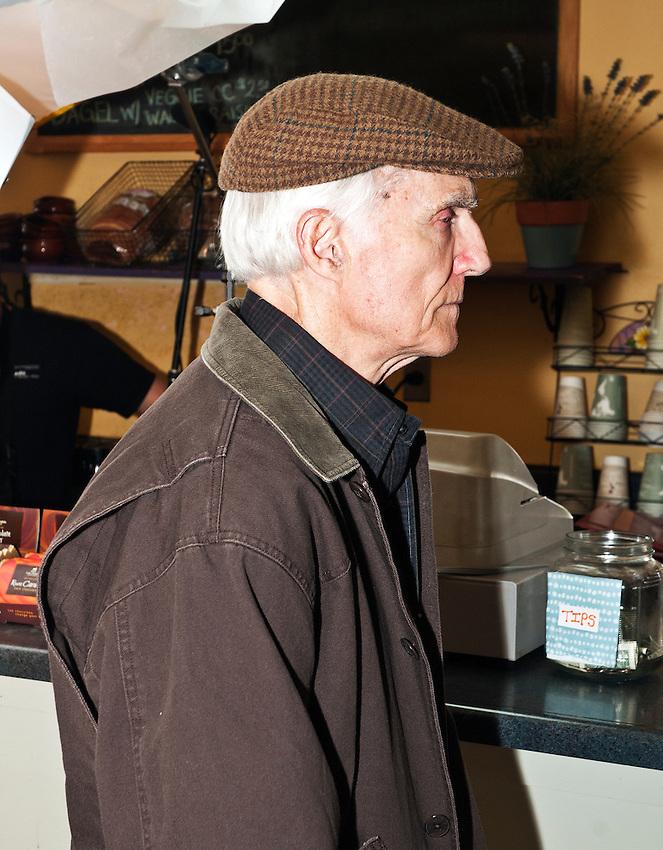 Bill McHugh in The Cascades.
