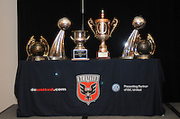 DC United Trophy's , at the 2011 Season Kick off Luncheon, at the Marriott Hotel in Washington DC, Wednesday March 16 2011.