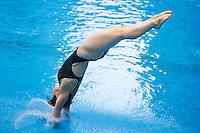 Nora Subschinski GER<br /> <br /> 3m Springboard Women preliminary<br /> <br /> Day 06 14/06/2015  <br /> <br /> 2015 Arena European Diving Championships<br /> <br /> Neptun Schwimmhalle<br /> <br /> Rostock Germany 09-14 June 2015 <br /> <br /> Photo Giorgio Perottino/Deepbluemedia/Insidefoto